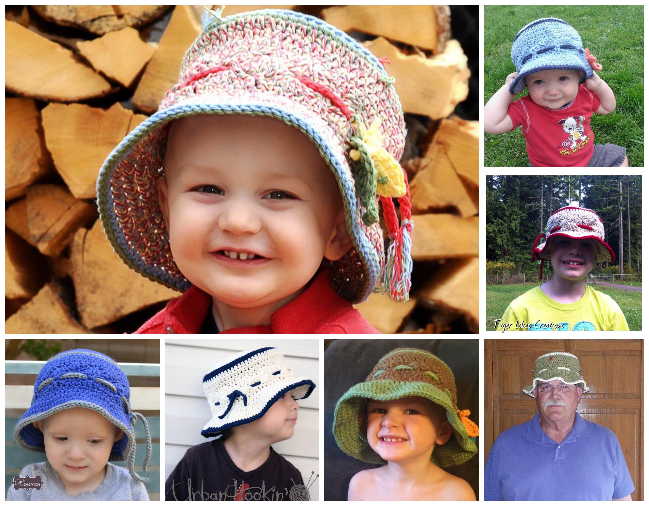 Free Crochet Pattern For Fisherman Hat ~ Dancox for .