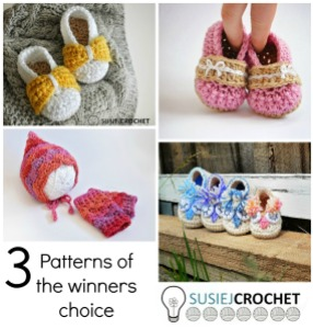 Susie J Crochet giveaway collage