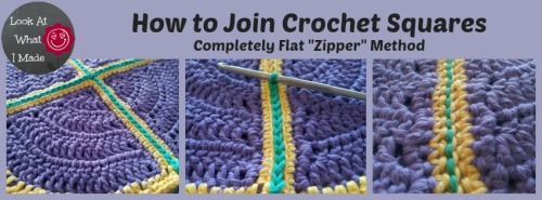 Crochet Zipper Join : zipper join - lookwhatimade
